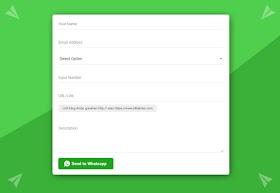 Cara Membuat Formulir Order dengan Kirim Menuju Whatsapp