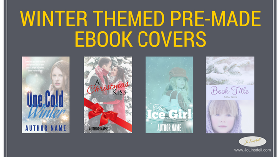 Winter Themed Pre-made Ebook Covers