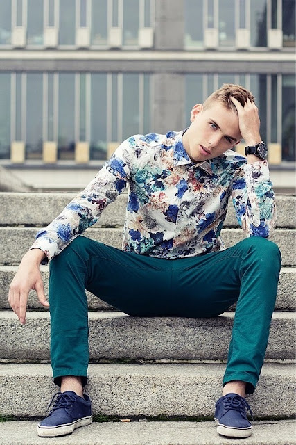 estampado tropical, blogger, fashion menswear, tendencia masculina, look inspiración