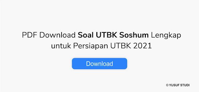 Download soal utbk soshum 2019 dan pembahasan yusuf studi