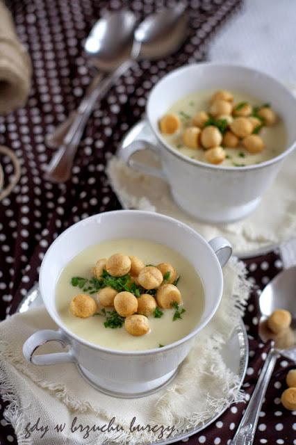 kremowa zupa z chrzanu
