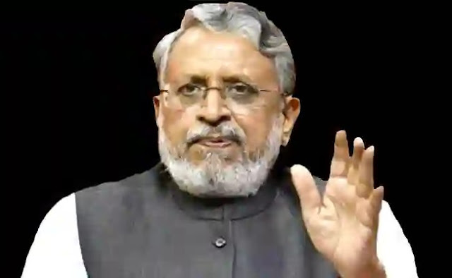 Sushil Modi said on formation of inquiry team regarding water logging in Patna, no committee formed
