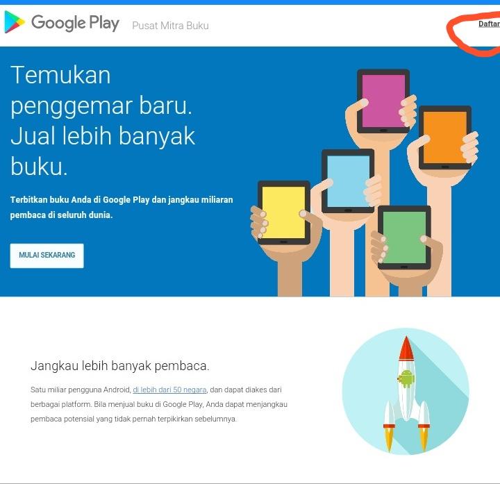 Cara Ebook Dari Google Play