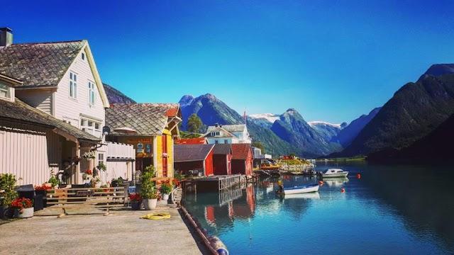 voyager en Norvège