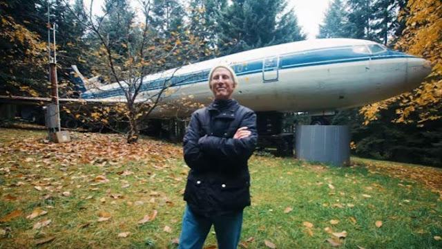 Se rieron cuando compró un Boeing 727 de Grecia, pero lo convirtió en un hogar único