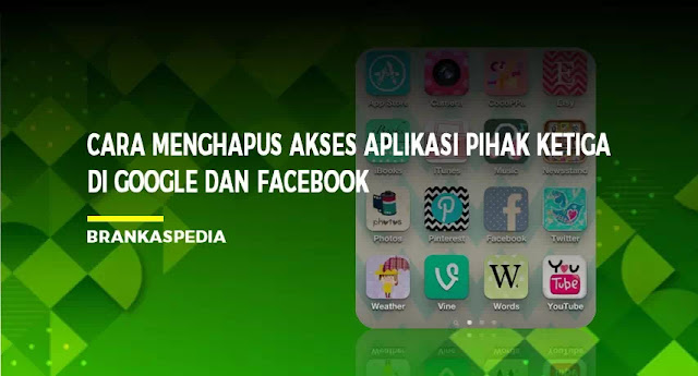 Menghapus Akses Aplikasi Pihak Ketiga di Google dan Facebook