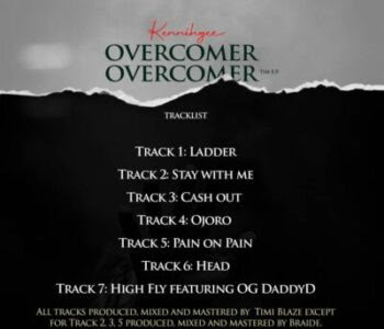 DOWNLOAD EP: Kennihgee - The Overcomer | @kennihgee