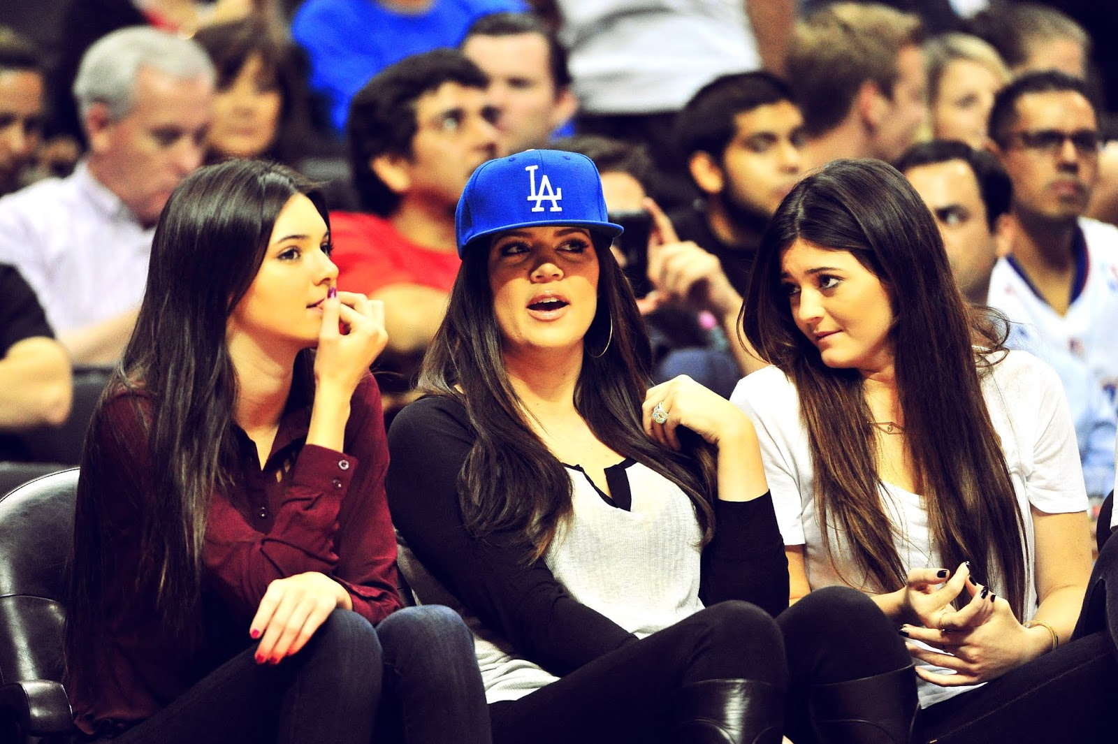 05 - Watching The Los Angeles Clippers Game on October 17, 2012