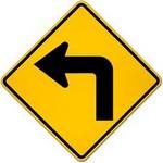 left turn ahead in spanish
