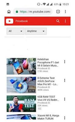 Memberikan tambahan 'ss' Pada URL Video Youtube