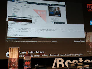RootedCon 2020 - Afonso Muñoz - Stego attacks by desing