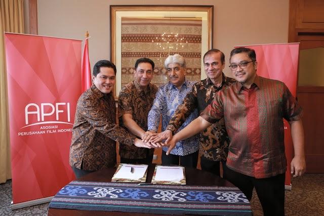 Kongres ke-2 APFI, Erick Tohir Dukung Perfiliman Indonesia Tembus Pasar Dunia
