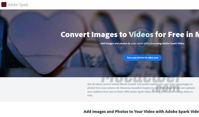 تحويل مجموعه من الصور الى فيديو اونلاين