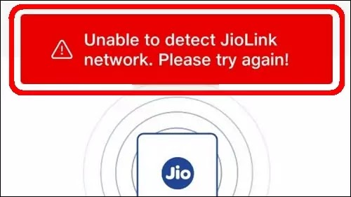 How To Fix Unable To Detect JioLink Network. Please Try Again Problem Solved in MyJio App