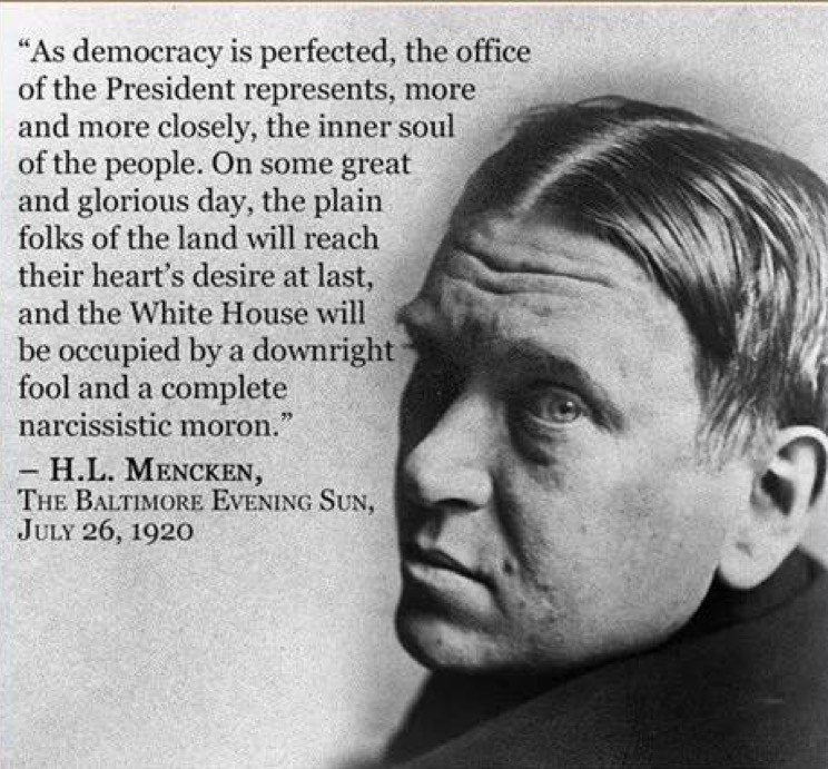 Quote Of The Day Hl Mencken On The Will Of The People