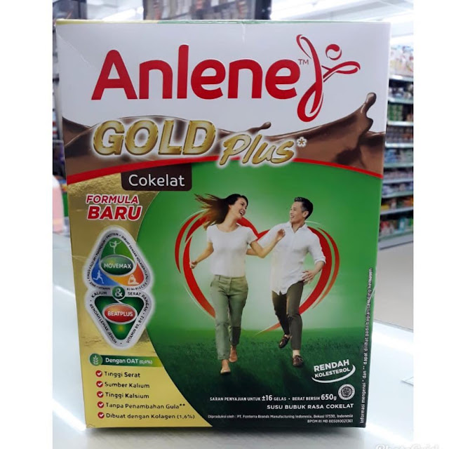 Anlene Gold Plus Untuk Usia 50 Tahun Keatas