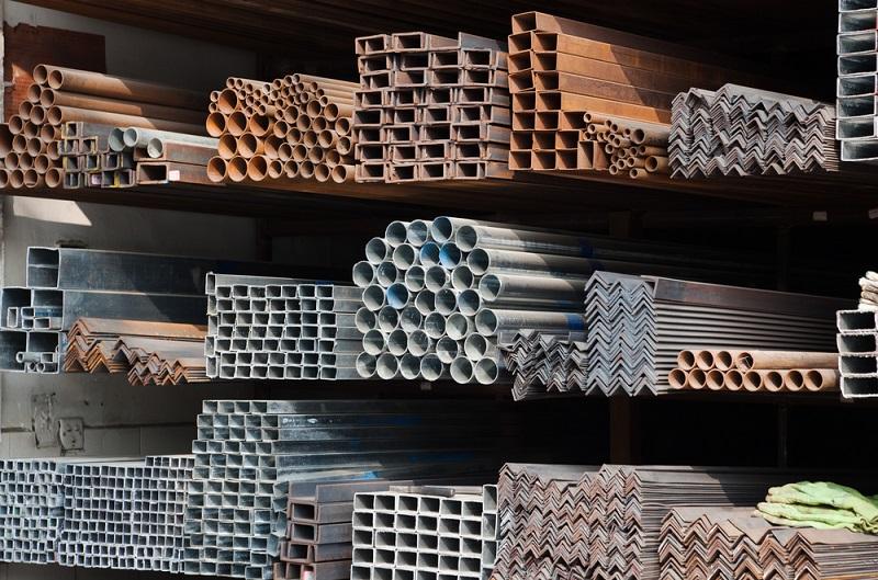 Besi hollow beragam ukuran