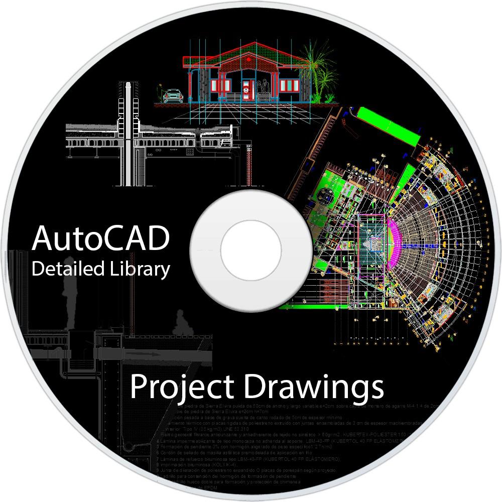 Archivos de autocad de proyectos famosos aporte a la for Archivos de cad