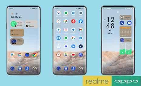 Tema Android 12 Untuk Oppo dan Realme All Series