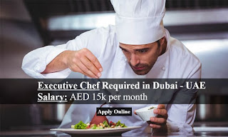 Executive Chef, Sous Chef, F&B Manager, Security Manager (Arabic Speaker), Jobs Vacancy in Donatello Hospitality Group Location Dubai