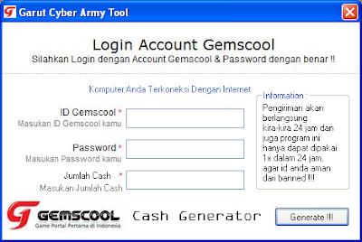 cheat gemscool cash adder