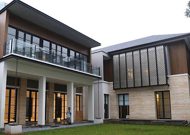 5 Rumah Super Mewah diatas 100M Milik Orang Kaya Indonesia