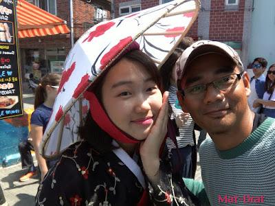Hanbok Korean Girl Gamcheon Culture Village