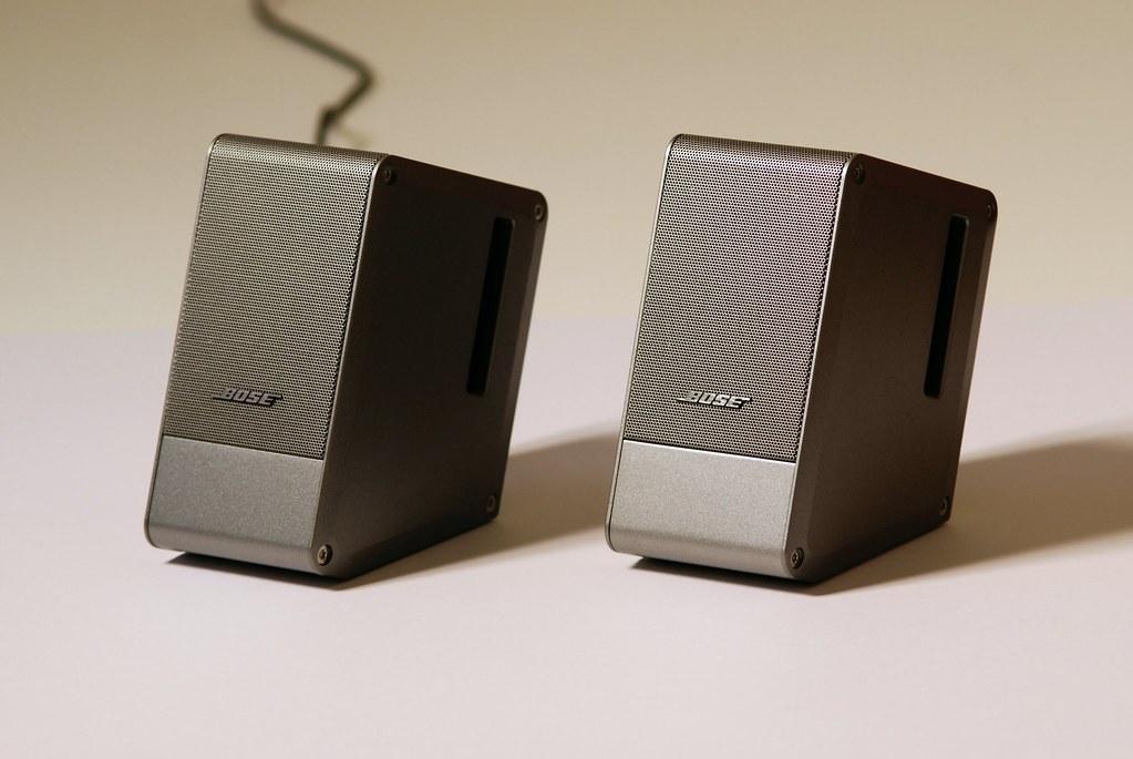 Bose acoustamas desktop speaker