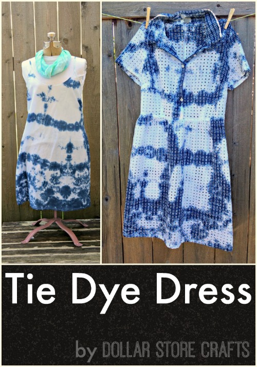 How to make a tie dye dress