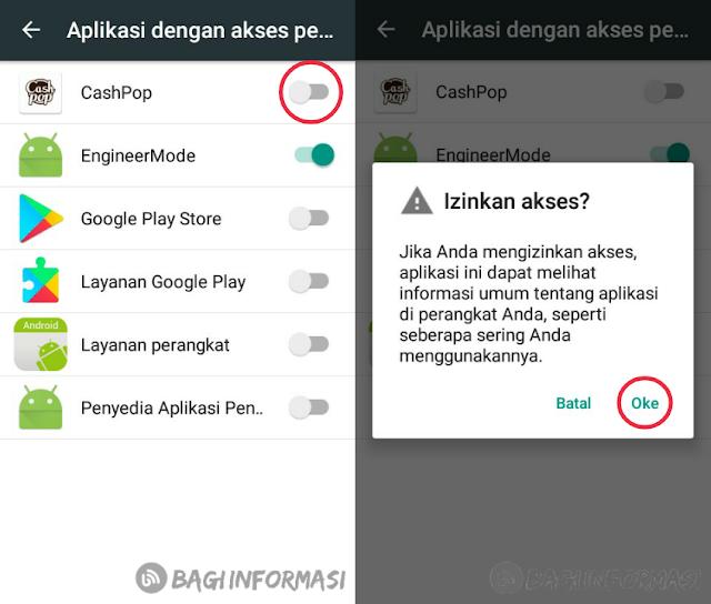 Daftar dan menggunakan aplikasi cashpop