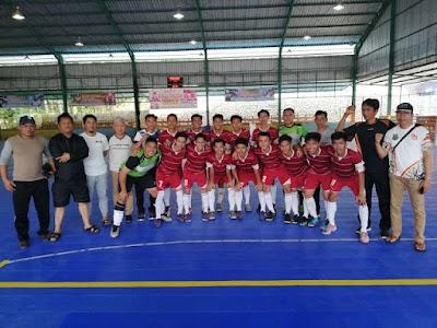 Tampil Perdana, Tim Futsal Kapuas Tumbangkan Barsel