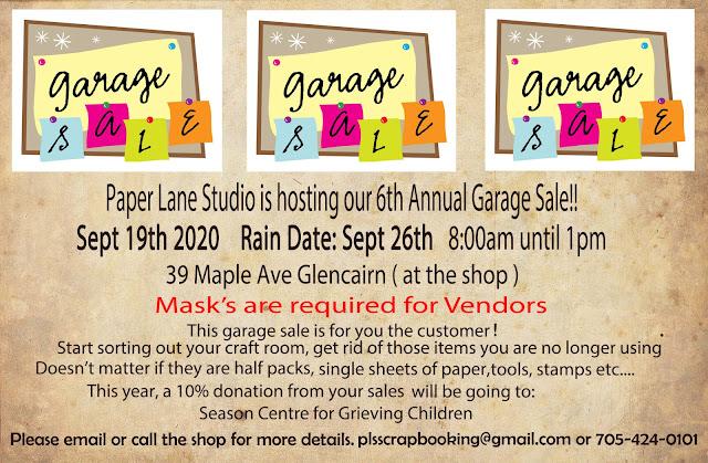 6th Annual Garage Sale