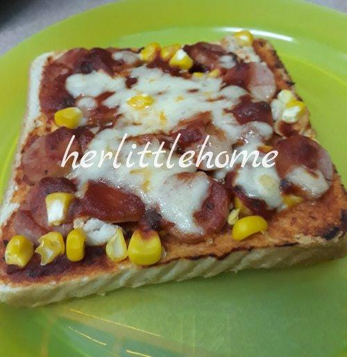 Resepi Roti Pizza Ayam