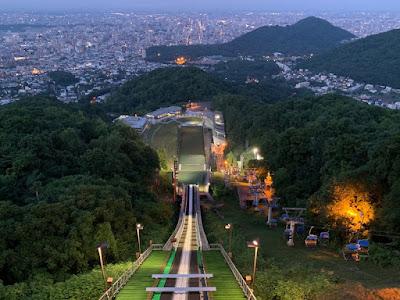 大倉山から見る札幌の夜景