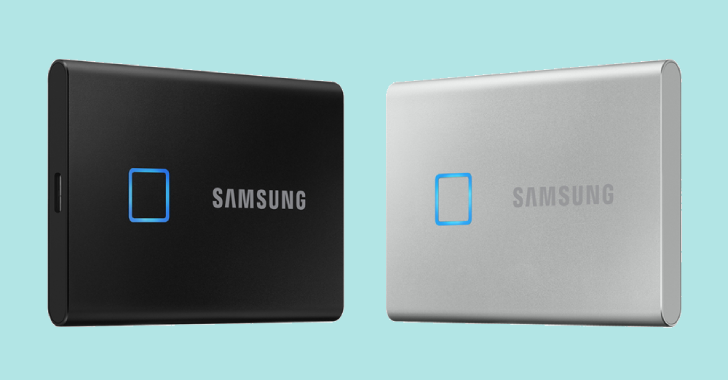 Samsung's New T7 Touch External SSD Has A Built-In Fingerprint Reader
