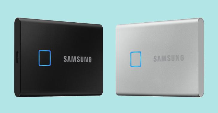 Samsung's New T7 Touch External SSD Has A Built-In Fingerprint Reader