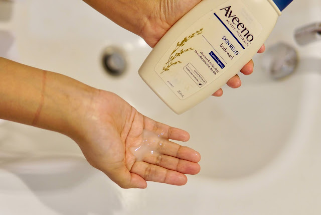 AVEENO SKIN RELIEF BODY WASH REVIEW