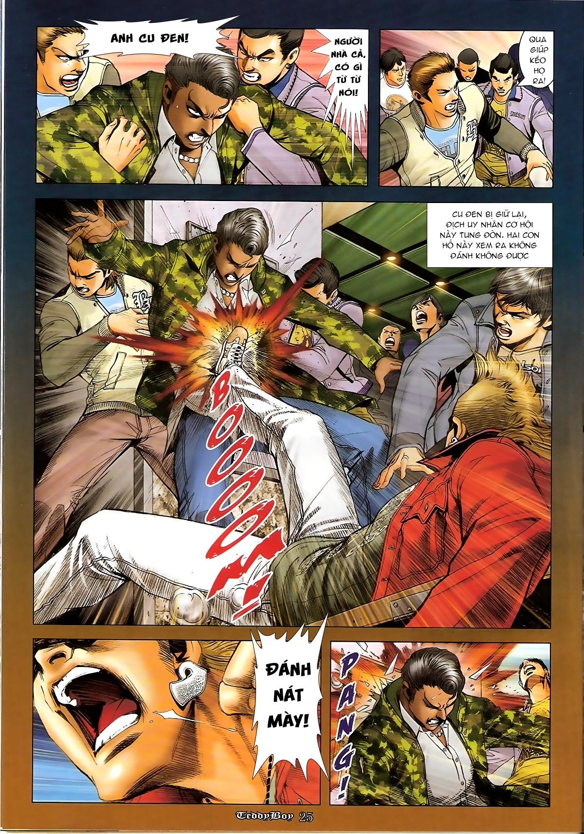 Người Trong Giang Hồ - Chapter 1267: Quá Giang Hổ vs Phi Châu Hổ - Pic 22
