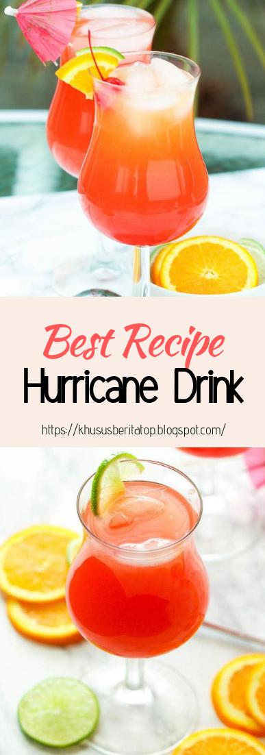 Hurricane Drink #healthydrink #easyrecipe #cocktail #smoothie