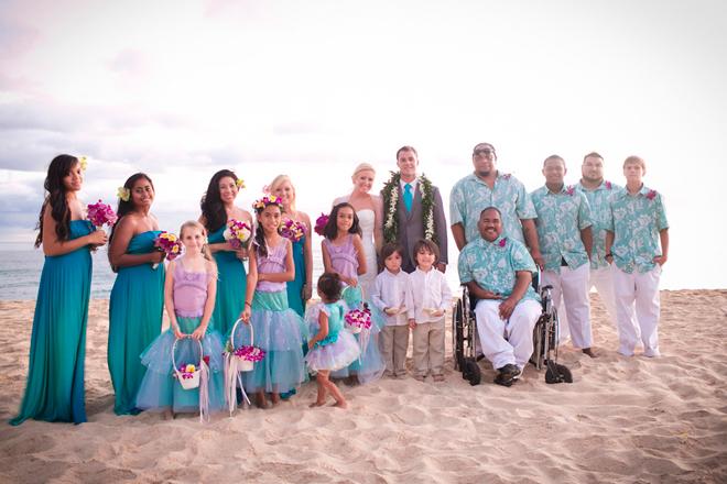Hawaii destination wedding belle the magazine junglespirit Image collections