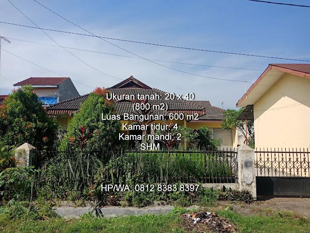 Jual rumah dengan luas tanah 800 m2 di Jl. Makmur Kp. Lalang Medan Helvetia Sumatera Utara