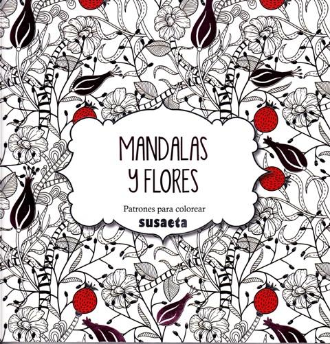 Un poco de na Mandalas flores dibujos Colorear adultos