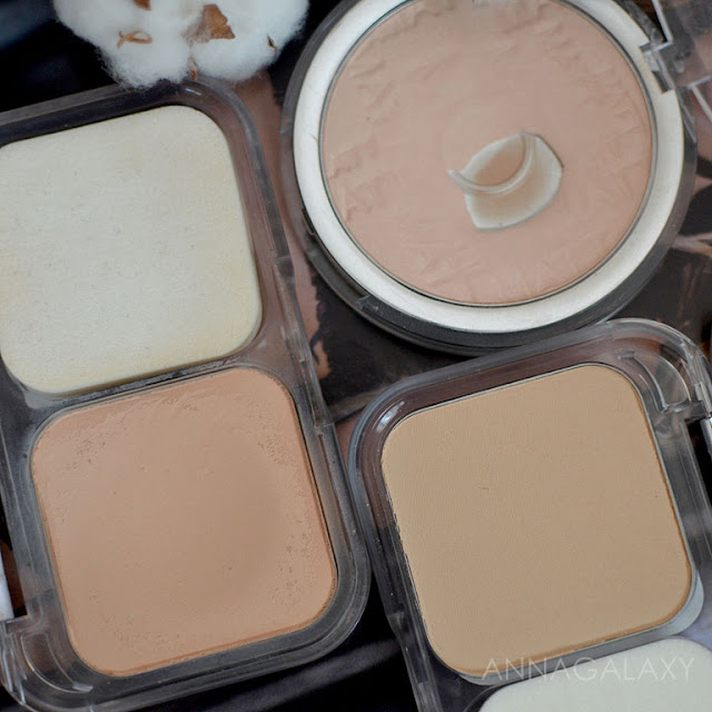 L'oreal True Match Ultra Perfecting Powder Alliance Perfect компактная пудра 2N Vanilla - сравнение оттенков
