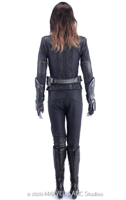 Agents of SHIELD Quake costume back