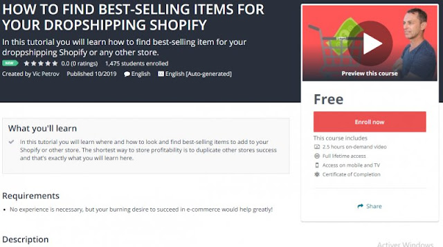 [100% Free] HOW TO FIND BEST-SELLING ITEMS FOR YOUR DROPSHIPPING SHOPIFY