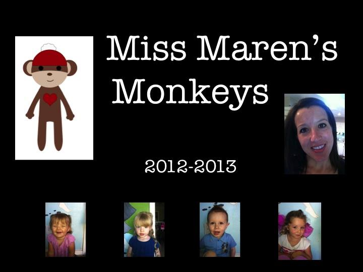 Miss Maren's Monkeys Preschool