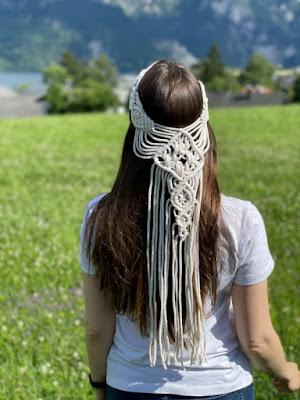 Macrame-veil-Macrame-wedding veil-Boho-veil-Macrame-Hairpiece-Bohemian veil-Macrame-Headband-Etsy-KMich Weddings-Philadelphia