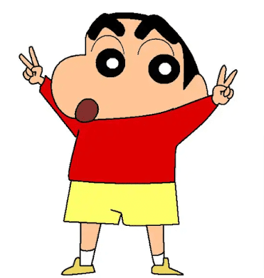 How to Draw a Shinchan Using Python Turtle, Tkinter, Matplotlib & Without Libraries