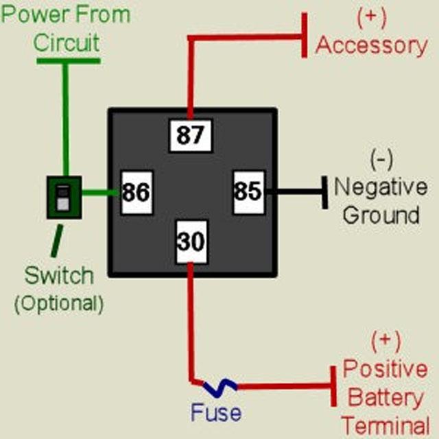 wiring relay lampu kereta wire center u2022 rh dxruptive co Arduino Relay Wiring Fuel Pump Relay Wiring Diagram