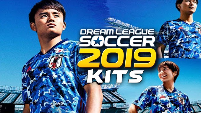 Japan 2020 Home Dls kit - Dream League Soccer 2019